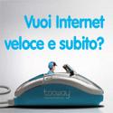 Connessione internet Veloce via satellite