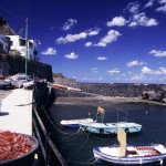 Eolie Islands, Sicily, Italy: Salina - the small port of  Rinella