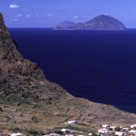 Eolie Islands, Sicily, Italy: Salina - the village f Pollara