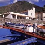 Eolie Islands, Sicily, Italy: Salina - a spot around the island