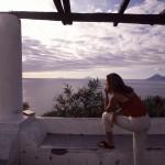 Eolie Island, Sicily, Italy: Vulcano - watching the archipelago