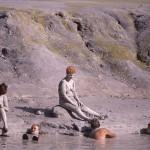 Eolie Island, Sicily, Italy: Vulcano - mud treatment