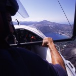 Eolie Island, Sicily, Italy: Vulcano - flying experienc in the Eolian skyies