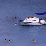 Eolie Island, Sicily, Italy: Vulcano - blue waters