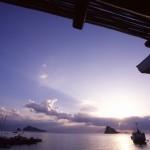 Eolie Island, Sicily, Italy: Panarea - sunrise over Panarea
