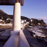 Eolie Island, Sicily, Italy: Panarea - the port