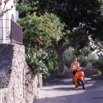 Eolie Island, Sicily, Italy: Panarea - a scene
