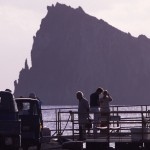 Eolie Island, Sicily, Italy: Panarea - Basiluzzo rock, just in front of Panarea