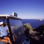 Eolie Island, Sicily, Italy: Panarea - taxi in the island