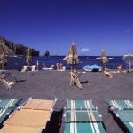 Eolie Island, Sicily, Italy: Vulcano - black beaches