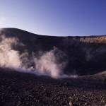 Eolie Island, Sicily, Italy: Vulcano - the top of the volcano