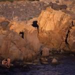Eolie Islands, Sicily, Italy: Panarea - rocks