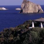 Eolie Islands, Sicily, Italy: Panarea - the rock of Basiluzzo