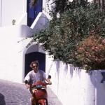 Eolie Islands, Sicily, Italy: Stromboli - scooter