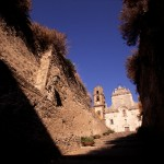 Eolie Island, Sicily:  Lipari -  the Cathedral
