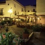 Eolie Island, Sicily, ITALY: Lipari - night scene in the centre