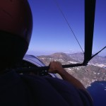 Eolie Island, Sicily, ITALY: Lipari - flying over the island