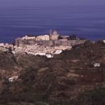 Eolie Island, Sicily, ITALY: Lipari -  view of Castello
