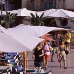 Eolie Island, Sicily, ITALY: Lipari -  daily life in Marina Corta