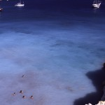 Eolie Islands, Sicily, Italy: Vulcano - blue waters