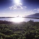 Eolie Islands, Sicily, Italy: Salina - the small salt lake of Lingua