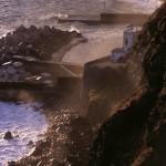 Eolie Islands, Sicily, Italy: Salina - the coast hit by the sea